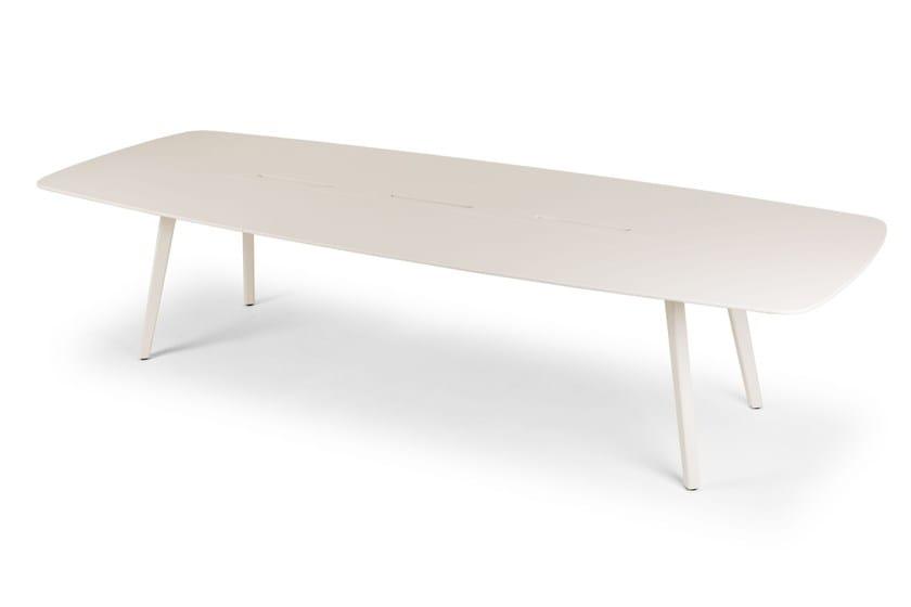 Legno Design In Moderno WingTavolo Laccato True Rettangolare Stile H2ED9IW