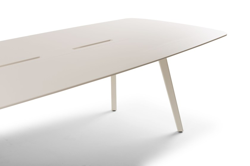Contemporary Style Lacquered Rectangular Wooden Table WING | Lacquered Table  By True Design