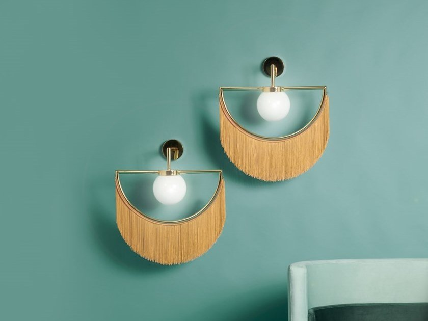 Metal wall lamp WINK | Wall lamp by Houtique