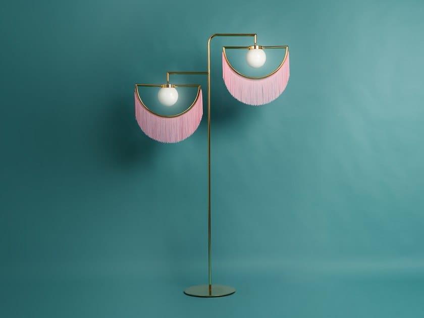 Metal floor lamp WINK | Floor lamp by Houtique