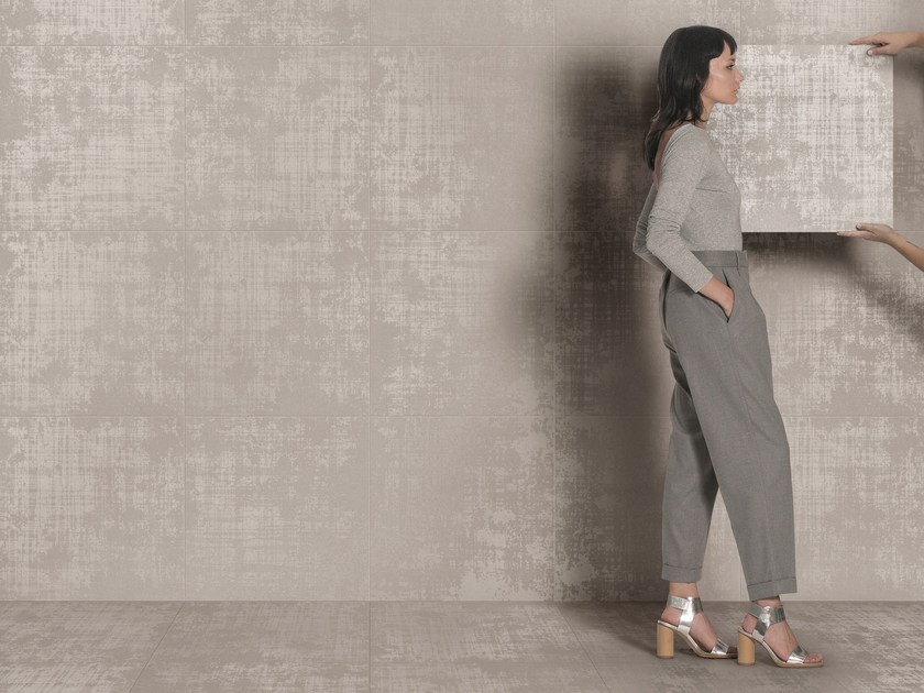 Porcelain stoneware wall/floor tiles WIRE 01 by Ceramiche Caesar