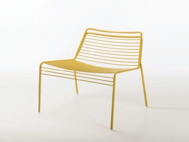 Metal armchair WIRE | Armchair by Casprini