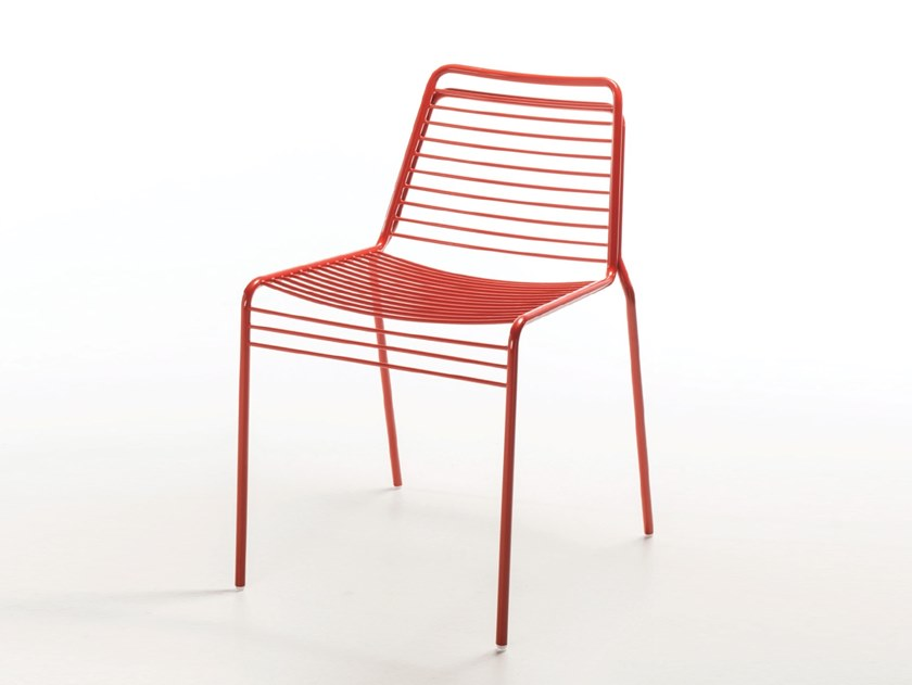 Metal chair WIRE | Chair by Casprini