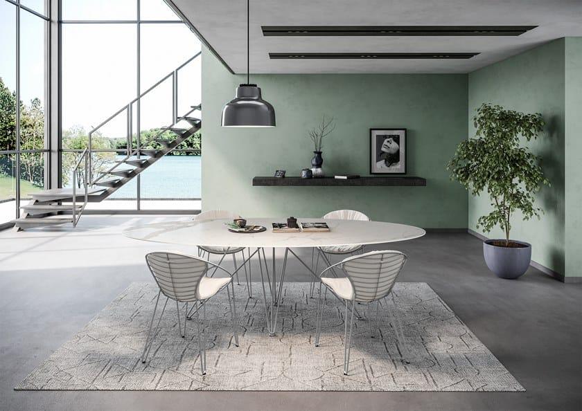 WIRE | Sedia in pelle