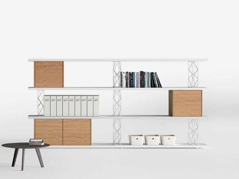 Libreria ufficio modulare wire sinetica for Libreria ufficio