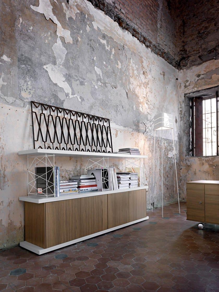 Libreria ufficio modulare WIRE - Sinetica