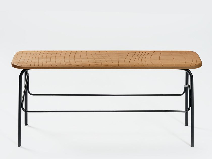 Contemporary style steel bench WIREFRAME | Bench by INPPUT