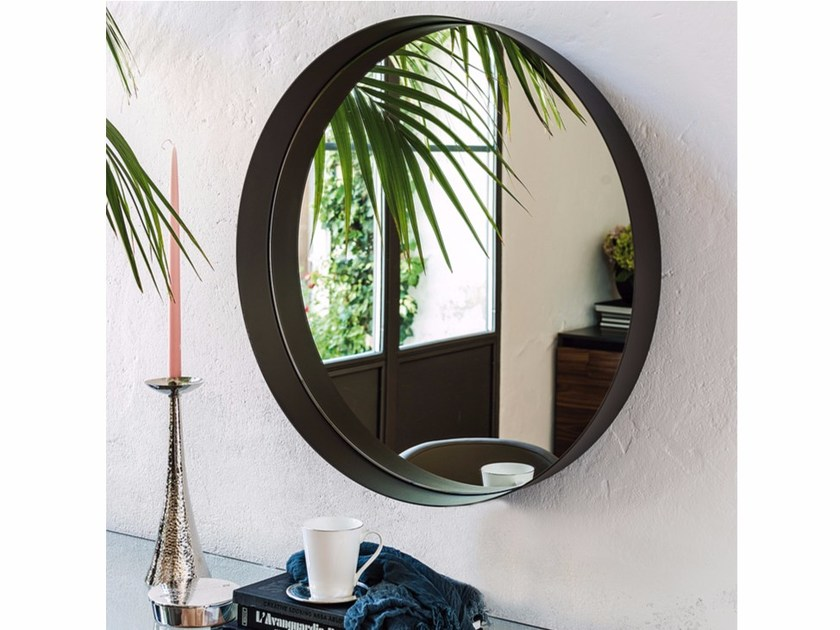 Round wall-mounted mirror WISH by Cattelan Italia