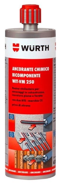 WIT-VM 250 ANCORANTE CHIMICO WIT-VM 250 WURTH