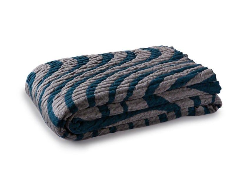 Wool blanket IRIDE | Blanket by Atipico