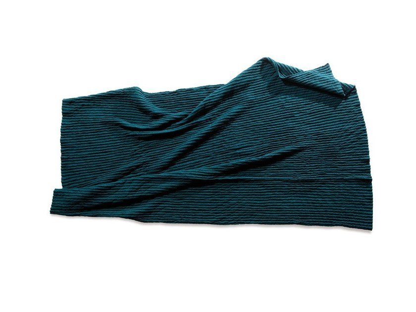 Solid-color wool blanket IRIDE | Solid-color blanket by Atipico