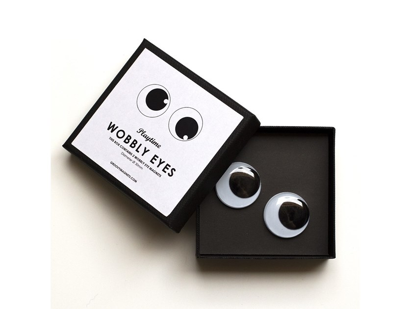 Magnet WOBBLY EYES by Groovy Magnets
