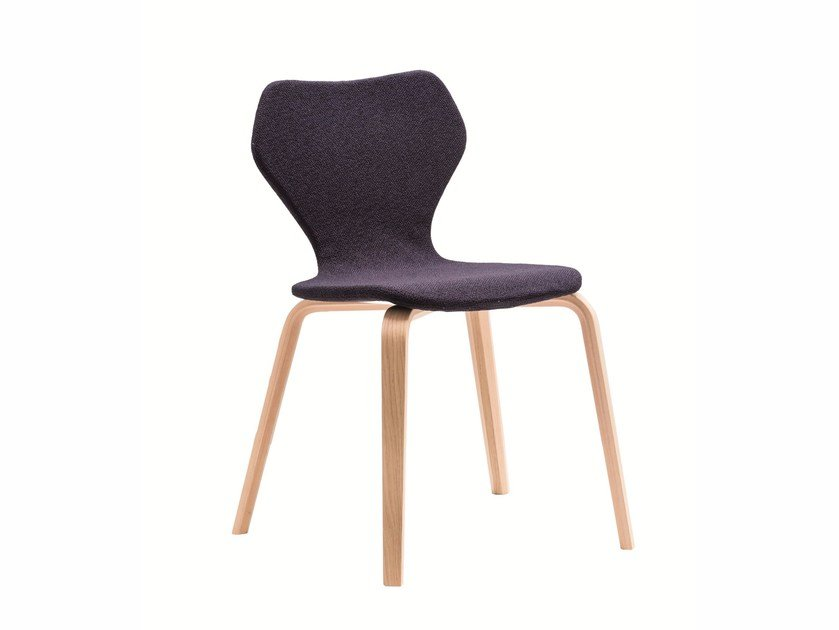 Upholstered chair WOMAN | Chair by Albaplus