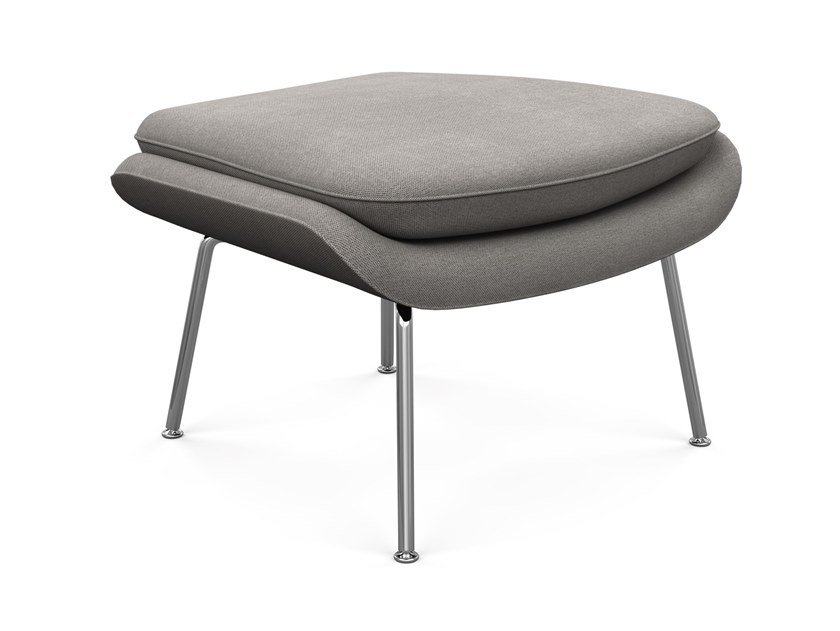 Fabric footstool WOMB™ OTTOMAN by KNOLL
