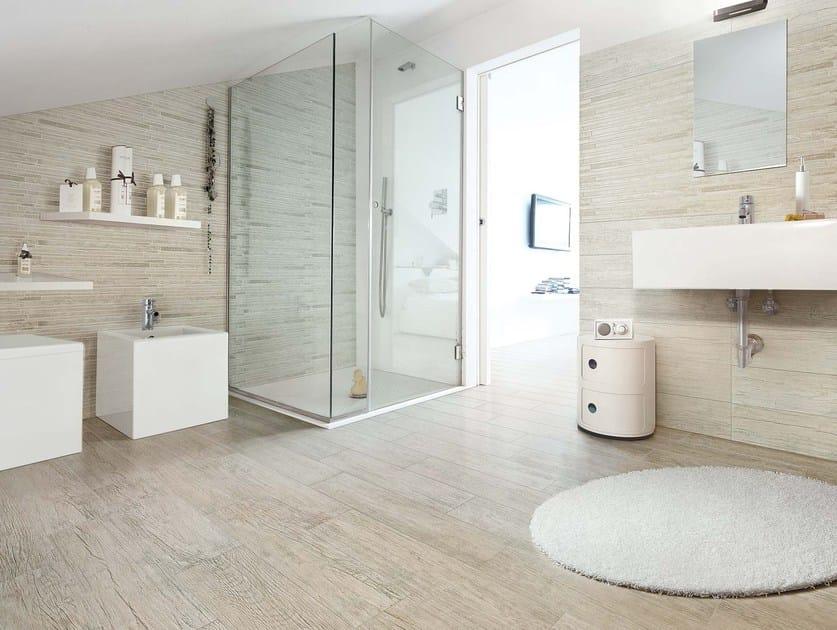 Wand- und Bodenbelag mit Holz-Effekt WOOD ESSENCE By CERIM