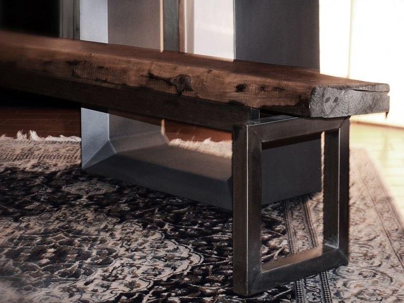 Panca In Legno Massiccio.Panca In Legno Massello Wood By Garda Design