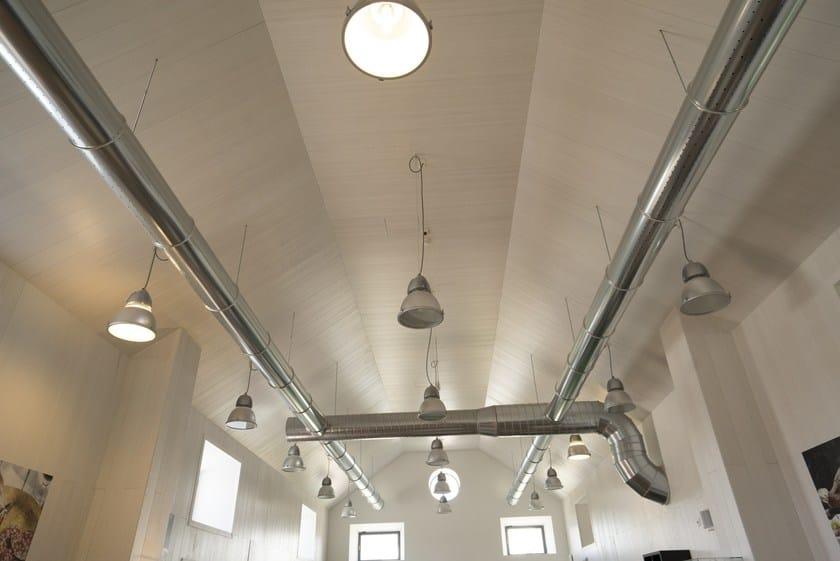 WOOD SHADE ACOUSTIC SHELL Expo 2015 - Dining area Padiglione della Società civile