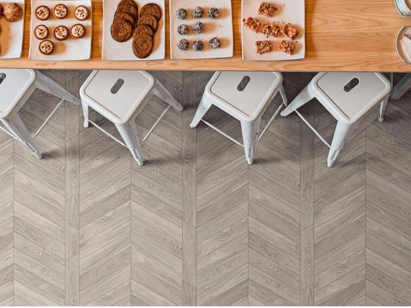 Glazed stoneware flooring with wood effect WOODCHOICE by Ragno