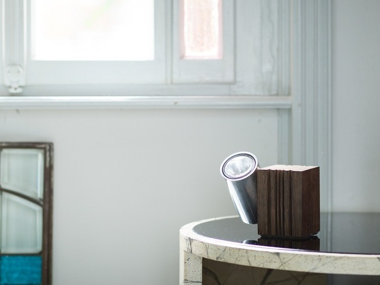 Adjustable table lamp WOODEN LAMP by axis71