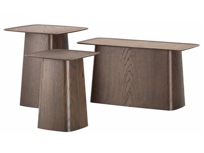 Wooden Coffee Table Side By Vitra