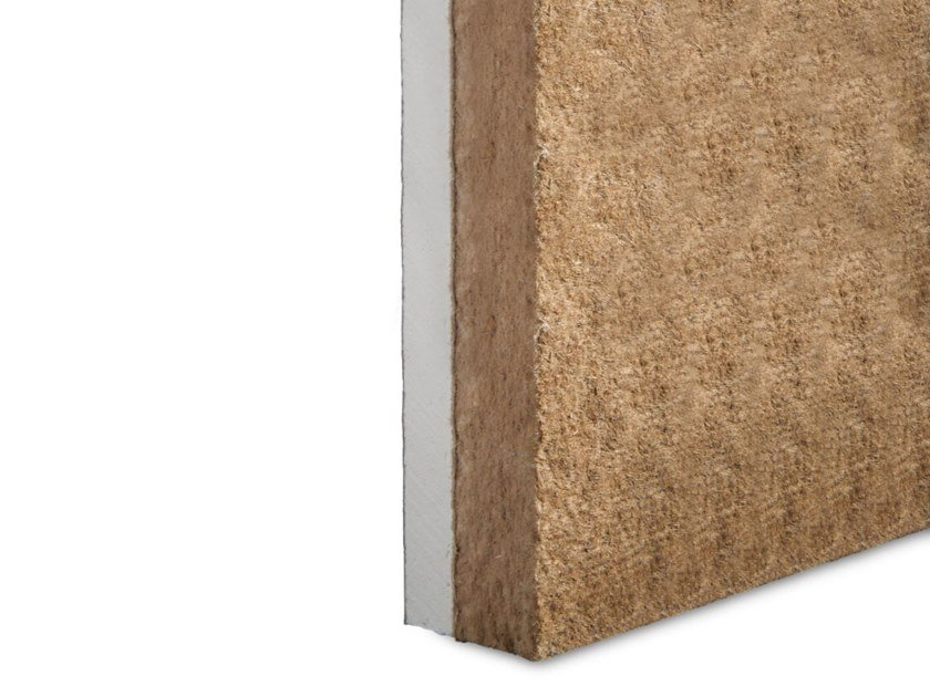 Wood-product sound insulation panel WOODGIPS by ETERNO IVICA