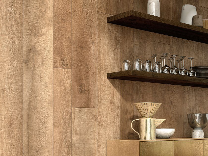 Laminated stoneware wall/floor tiles with wood effect WOODLAND - ARDEN by COTTO D'ESTE