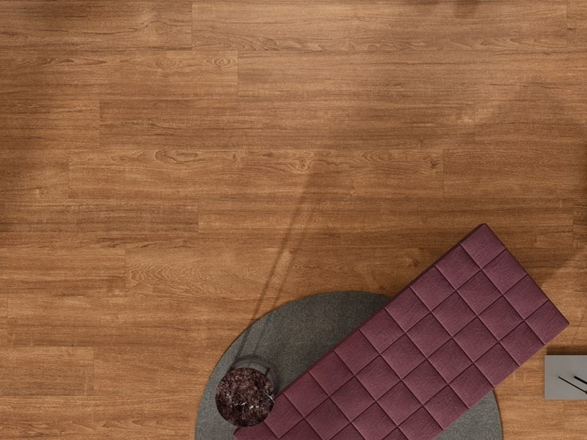 Laminated Stoneware Wall Floor Tiles With Wood Effect
