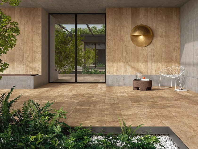 Laminated stoneware wall/floor tiles with wood effect WOODLAND - WALDEN by COTTO D'ESTE