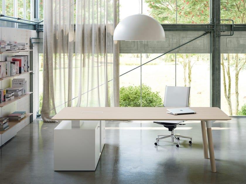 Письменный стол WOODS | Письменный стол by FANTONI