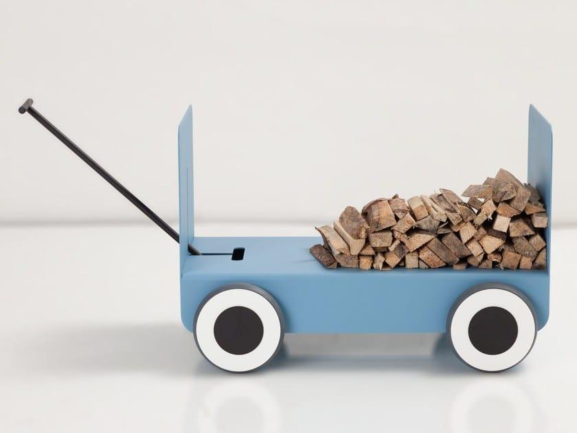 Steel Log holder WOODY | Log holder by CAR-MET