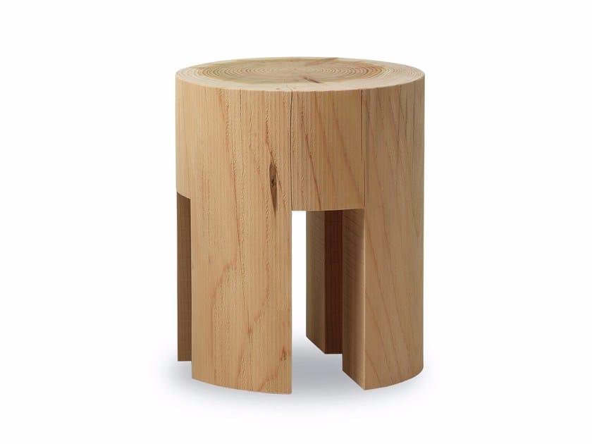 Cedarwood stool WOODY by Riva 1920