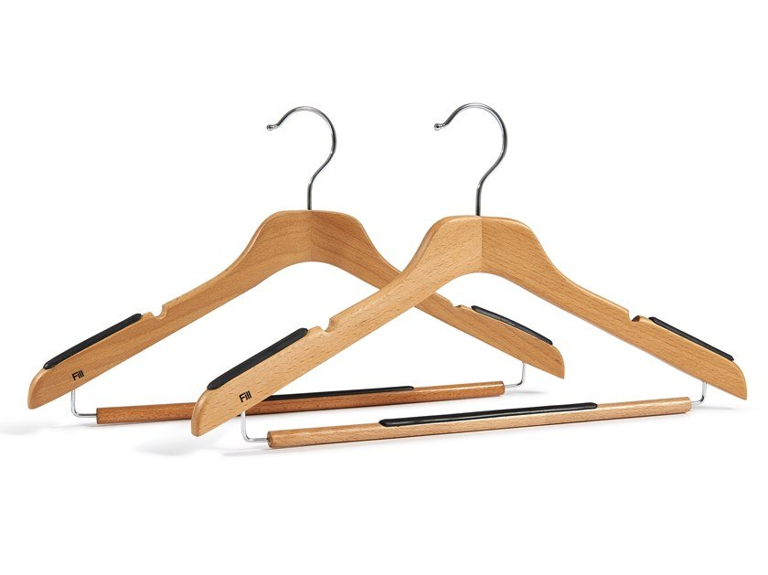 Beech clothes hanger WOODY by Fill