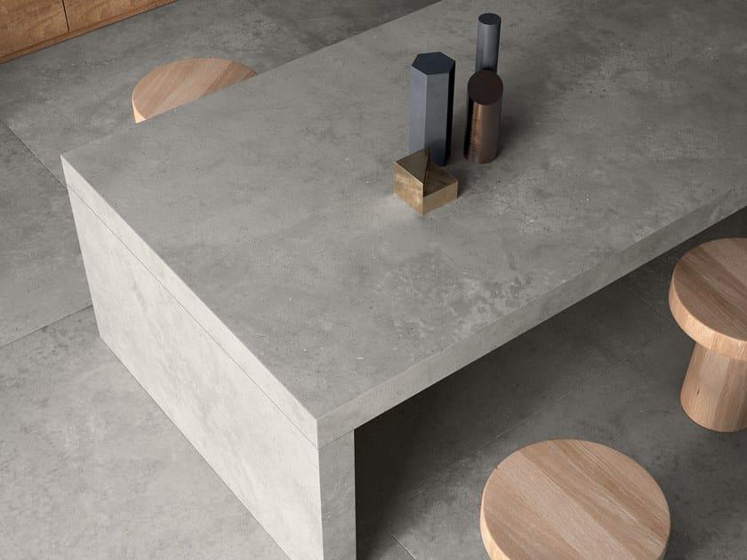Porcelain stoneware furniture foil WORKTOPS by Flaviker