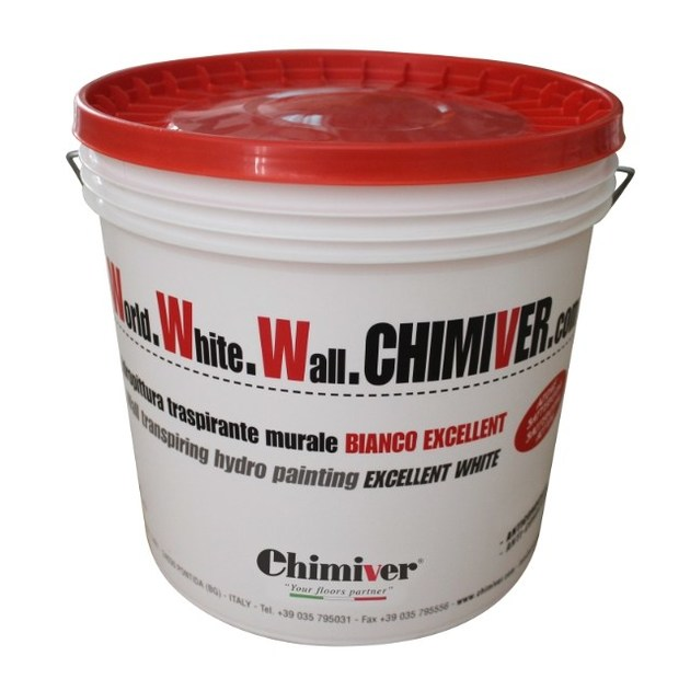 Washable water-based paint WORLD WHITE WALL CHIMIVER COM LAVABILE by Chimiver Panseri