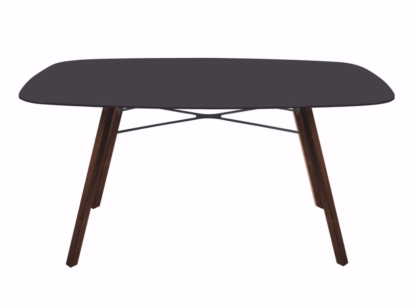 Rectangular garden table WOX IROKO | Rectangular table by Papatya