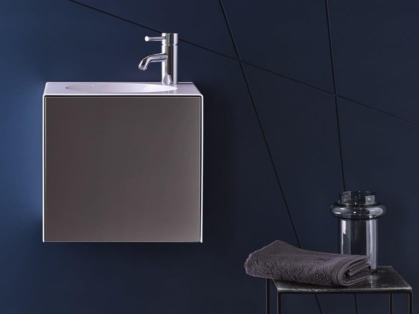 Spazio lavabo in acciaio vetrificato WP.Folio11 by Alape
