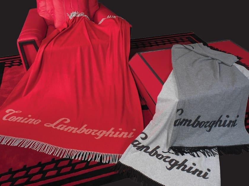 Solid-color cashmere lap robe WS124 | Lap robe by Tonino Lamborghini Casa