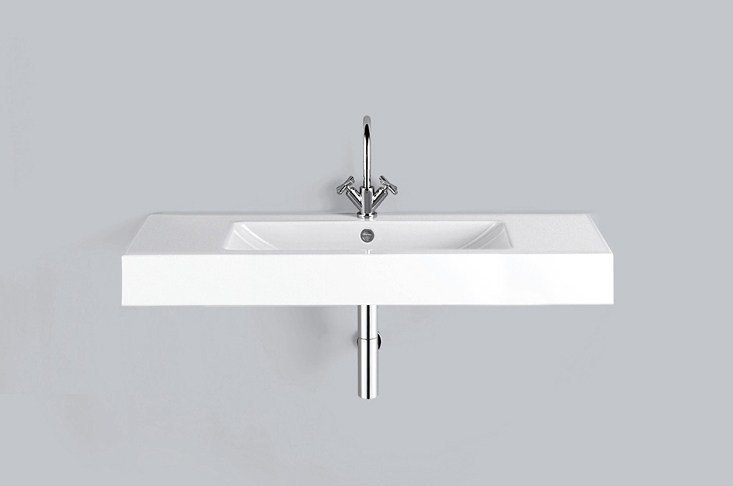 Washstand from glazed steel WT.GR1250H by Alape