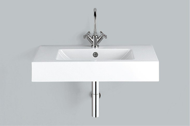 Washstand from glazed steel WT.PR800H by Alape