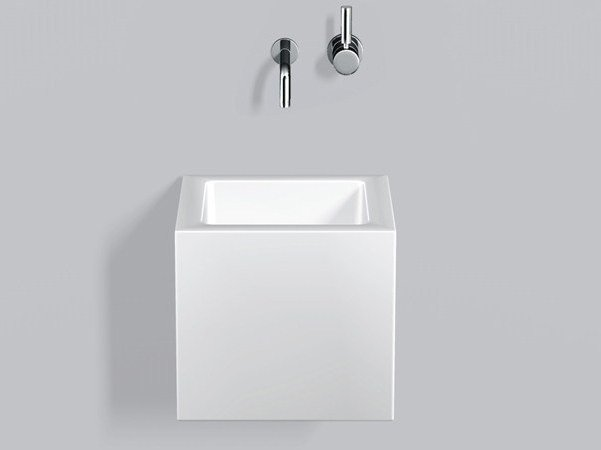 Washstand from glazed steel WT.QS325X by Alape