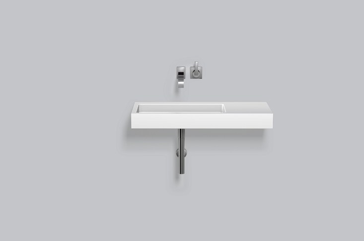 Washstand from glazed steel WT.RE1000.L/R by Alape