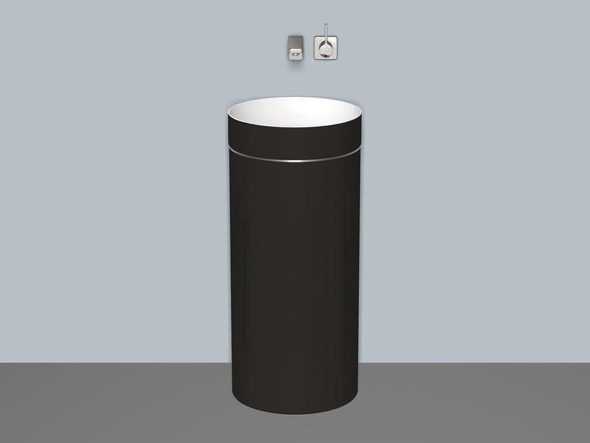 Washstand from glazed steel WT.RX400.KE by Alape