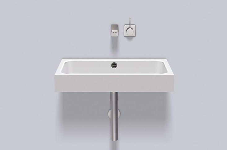 Washstand from glazed steel WT.SR650 by Alape