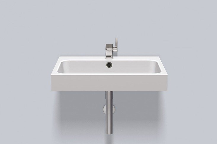 Washstand from glazed steel WT.SR650H by Alape
