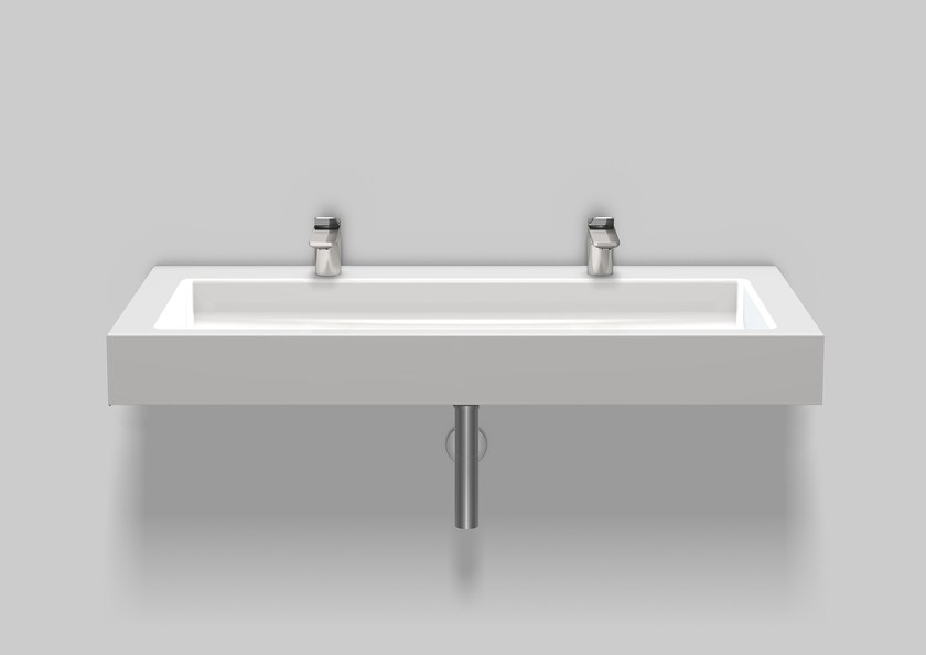 Washstand from glazed steel WT.TW1200H by Alape