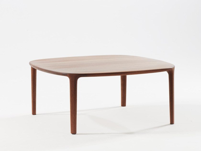 Square solid wood coffee table WU | Coffee table by Artisan
