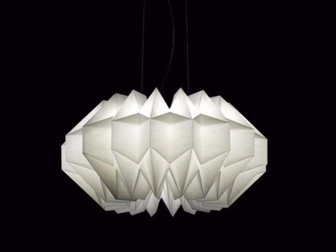LED paper pendant lamp WUNI by Artemide