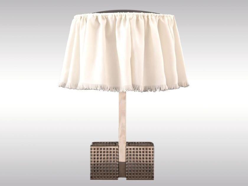 Brass bedside lamp WW-20 by Woka Lamps Vienna
