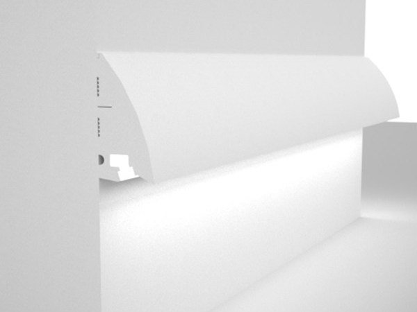 LED wall-mounted EPS foot- and walkover light Wall-mounted foot- and walkover light by Eleni