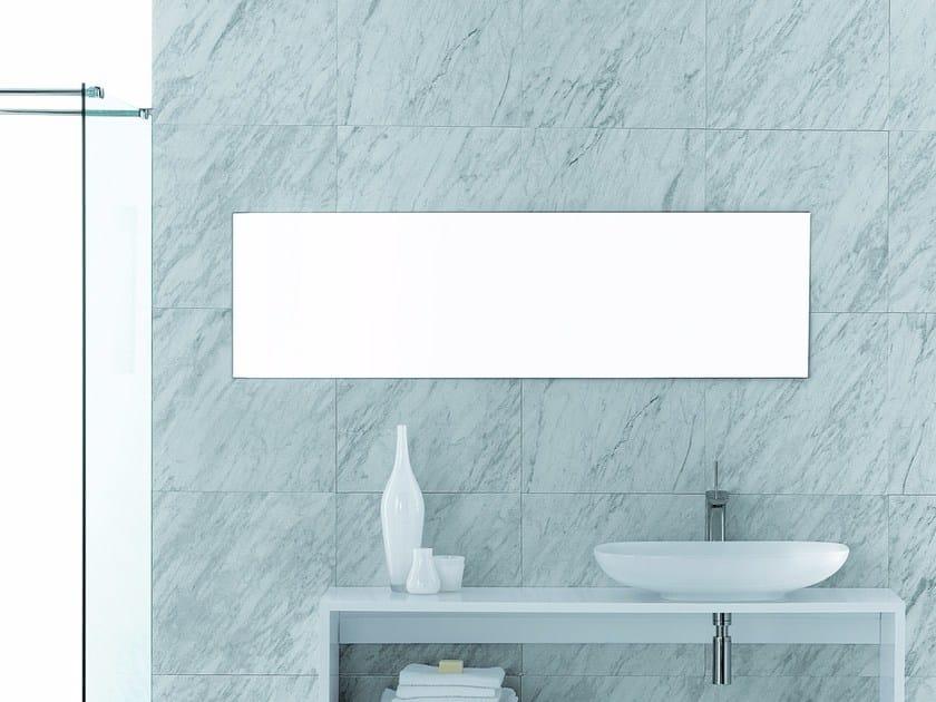 Rectangular wall-mounted bathroom mirror FORMOSA | Rectangular mirror by Olympia Ceramica